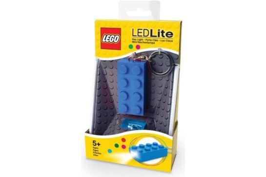 LEGO Classic Latarka Brelok Niebieski Klocek 2x4