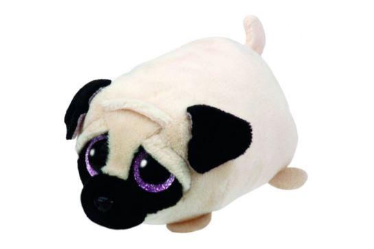 Maskotka TY Teeny Tys Piesek Candy - Tan Pug Dog