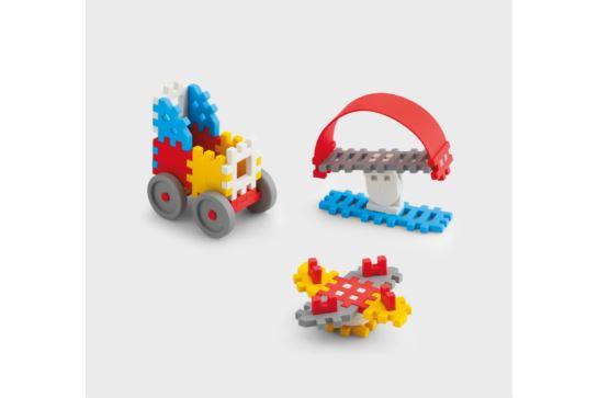 Klocki Marioinex Mini Wafle Konstruktor Chłopiec 35 szt