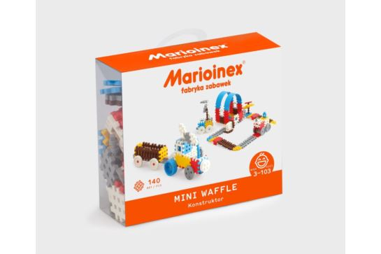 Klocki Marioinex Mini Waffle Konstruktor 140 szt
