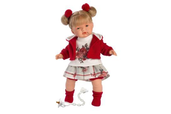 Llorens Lalka Płacząca Joelle Blondynka 38 cm