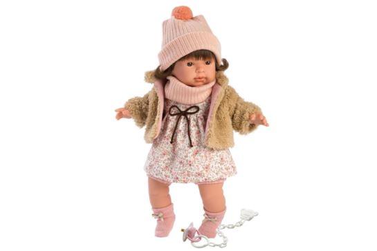 Llorens Lalka Płacząca Pippa Brunetka 42 cm