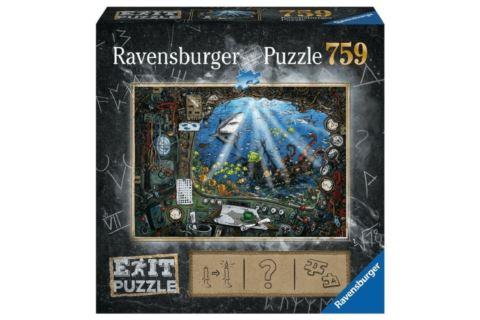 Ravensburger Exit Puzzle 759 el. Łódź Podwodna