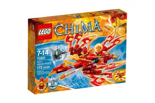 LEGO Legends of Chima 70221 Pojazd Flinxa