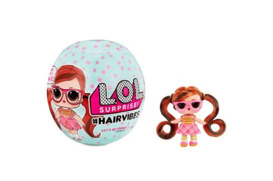 L.O.L. Surprise Hairvibes Laleczka z Kolorowymi Włosami