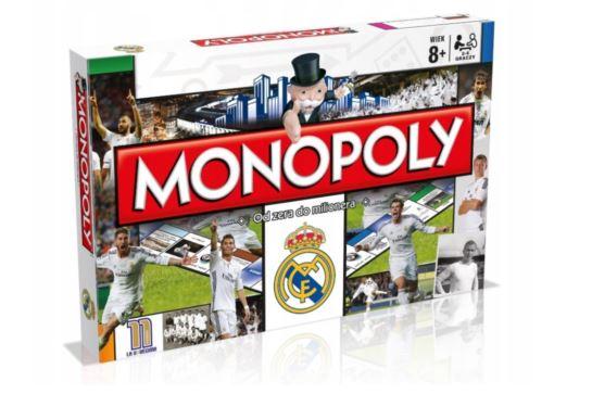 Gra Planszowa Monopoly Real Madryt Hasbro