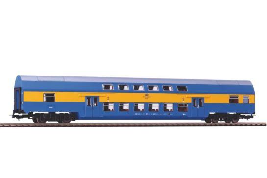 PIKO 97086 Wagon Piętrowy Bdhpumn PKP Stacja Toruń Kl. II Ep. V