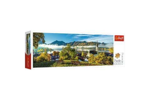 Puzzle Trefl Panorama 1000 el. Zamek/Jezioro Schliersee