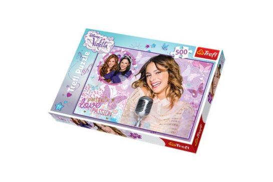 Puzzle Trefl 500 el. Violetta