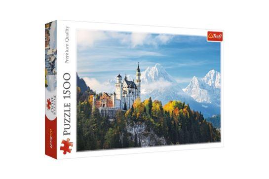 Puzzle Trefl 1500 el. Alpy Bawarskie