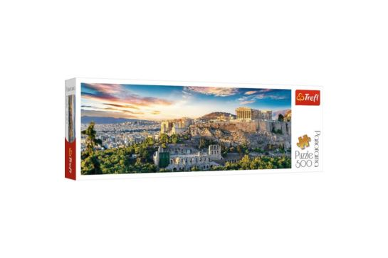 Puzzle Trefl Panorama 500 el. Akropol Ateny