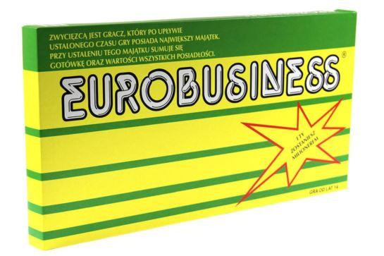 Gra Planszowa Eurobiznes Eurobusiness