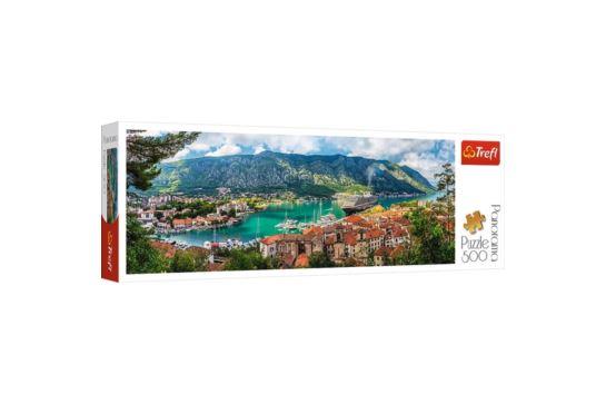 Puzzle Trefl 500 el. Panorama Kotor Czarnogóra