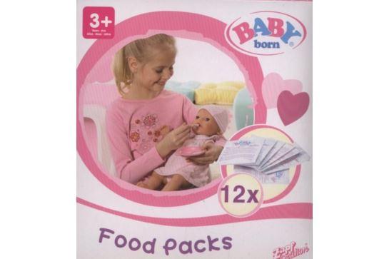 Pokarm Jedzenie dla Lalki Baby Born 12 szt.Zapf Creation