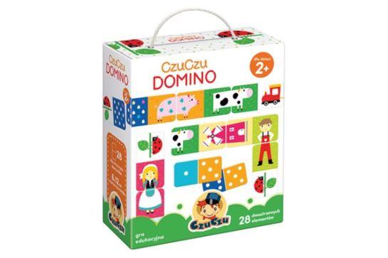 CzuCzu Domino 28 Dwustronnych Elementów 2+