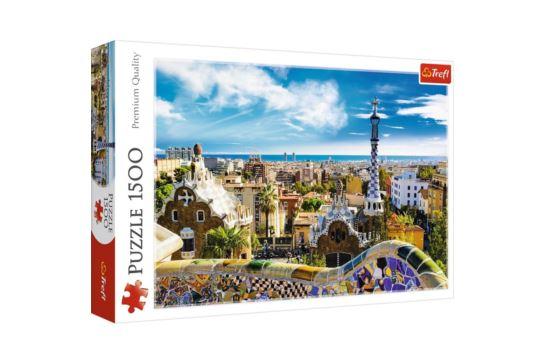 Puzzle Trefl 1500 el. Park Güell, Barcelona