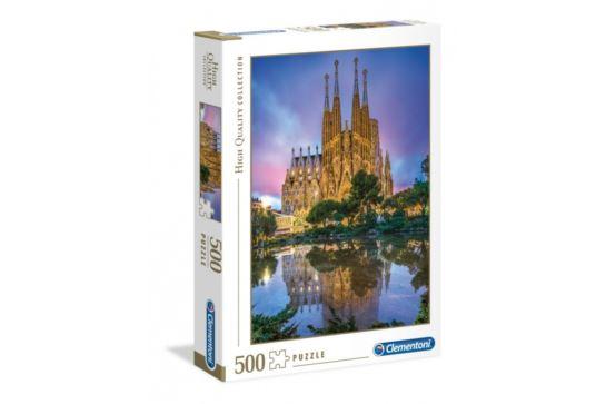 Puzzle Clementoni 500 el. Sagrada Familia, Barcelona