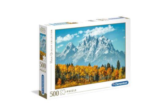 Puzzle Clementoni 500 el. Park Narodowy Grand Teton USA