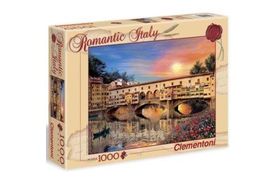 Puzzle Clementoni 1000 el. Romantyczna Florencja