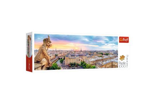 Puzzle Trefl 1000 el. Panorama Notre Dame Widok z Katedry