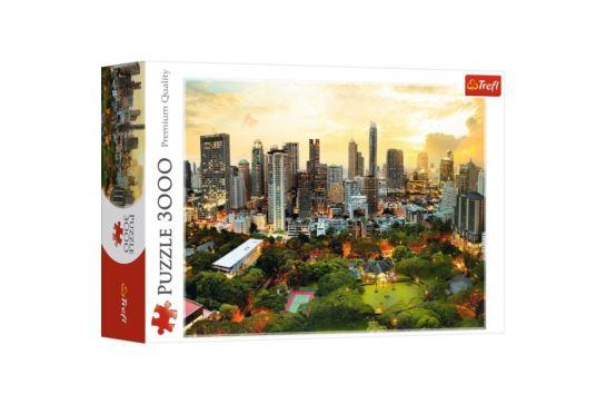 Puzzle Trefl 3000 el. Zachód Słońca w Bangkoku
