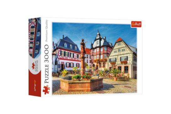 Puzzle Trefl 3000 el. Rynek w Heppenhein, Niemcy