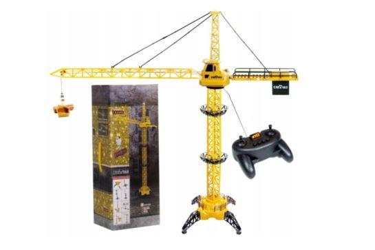 Duży Dźwig Żuraw Budowlany Starowany na Pilota 128 cm