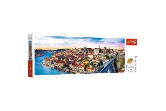 Puzzle Trefl Panorama 500 el. Porto Portugalia