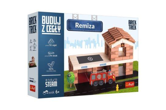Buduj z Cegły Remiza Strażacka Brick Trick