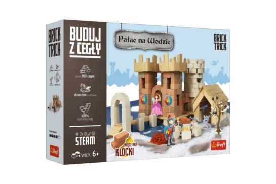 Buduj z Cegły Pałac na Wodzie Zamek Brick Trick