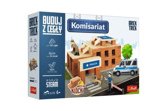 Buduj z Cegły Komisariat Policji M Brick Trick