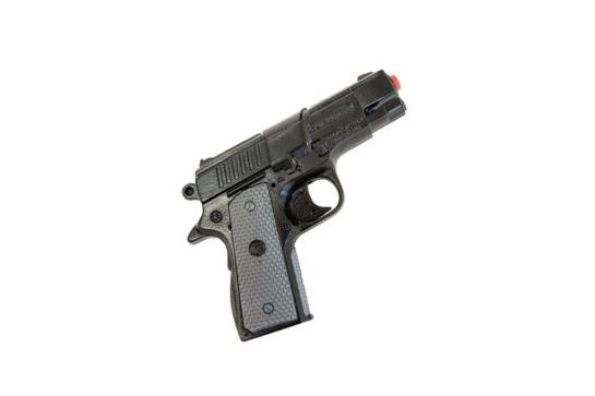 Metalowy Pistolet Na Kapiszony Gonher Policyjny Czarny