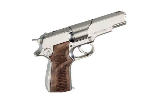 Metalowy Pistolet Na Kapiszony Policyjny Gonher Srebrny