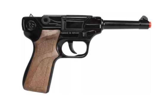 Metalowy Pistolet Na Kapiszony Policyjny Gonher