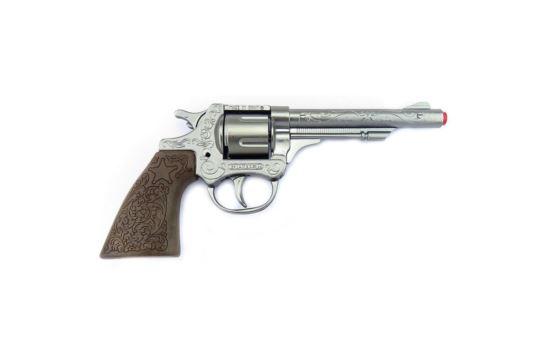 Metalowy Rewolwer Na Kapiszony Pistolet Kowbojski Gonher