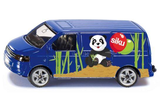 Volkswagen Transporter Czarny Siku 1338