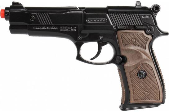 Metalowy Pistolet Na Kapiszony Gonher Policyjny