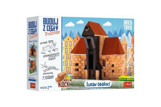 Buduj z Cegły Żuraw Gdański Brick Trick Podróże