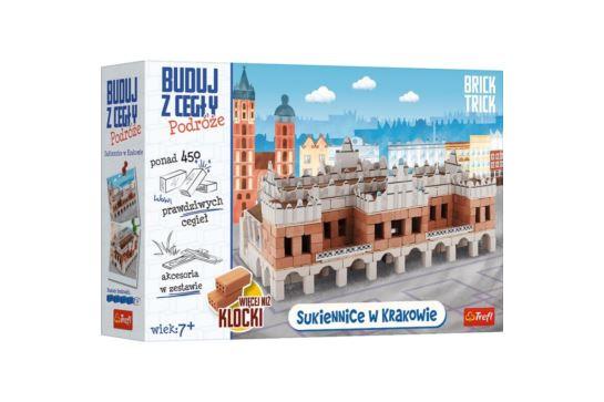 Buduj z Cegły Sukiennice XL Kraków Brick Trick Podróże