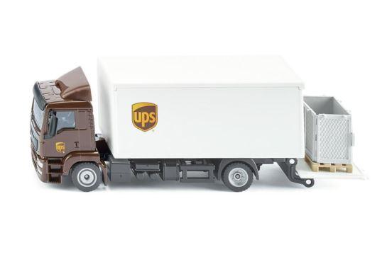Siku 1997 Ciężarówka MAN UPS z Windą