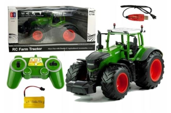 Traktor Ciągnik Rolniczy Zdalnie Sterowany 1:16 do Bruder