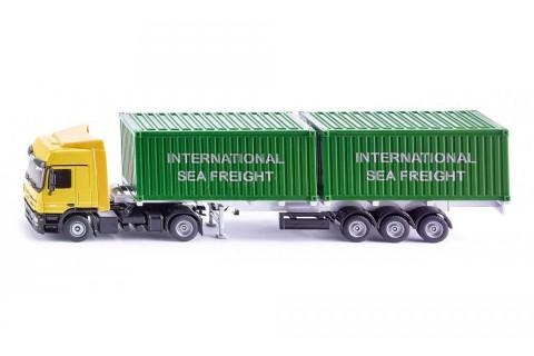 Ciężarówka z Kontenerami Siku 3921 1:50