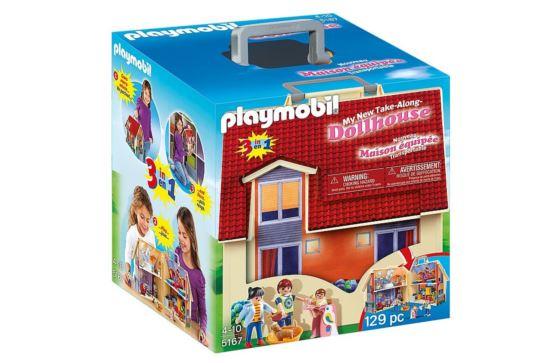 Playmobil 5167 Nowy Przenośny Domek Dla Lalek