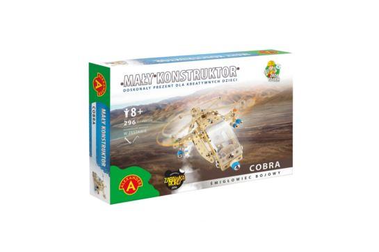Mały Konstruktor Śmigłowiec Bojowy Cobra