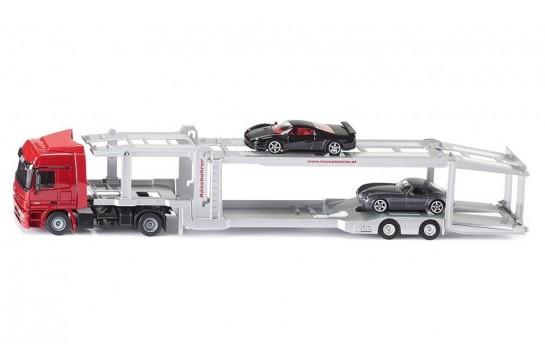 Ciężarówka z Lawetą Do Przewozu Aut Siku 3934 1:50
