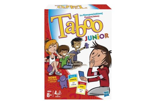 Gra Słowna Taboo Junior Hasbro