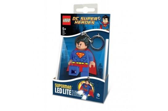 Latarka Brelok Superman Lego Super Heroes