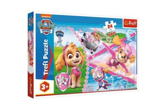 Puzzle Trefl 24 Maxi Psi Patrol Bohaterska Skye