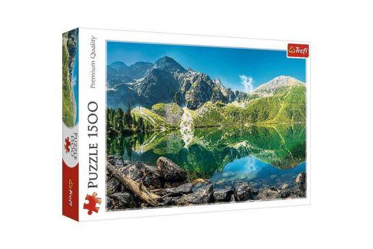 Puzzle Trefl 1500 El. Jezioro Morskie Oko Tatry