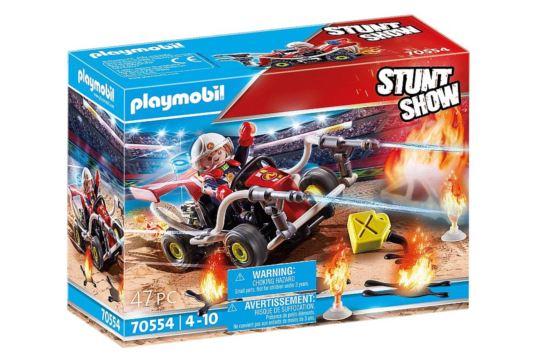 Playmobil 70554 Gokard Straży Pożarnej Pokaz Kaskaderski